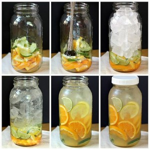 Infused water van Bar Company