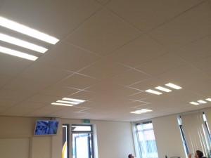 LED verlichting in kantoorvertrekken