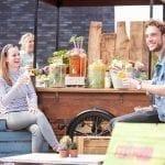 juicebar huren met verse sappen en fruitwaters bij Bar Company