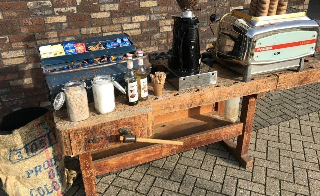 Bar Company Koffie werkbank