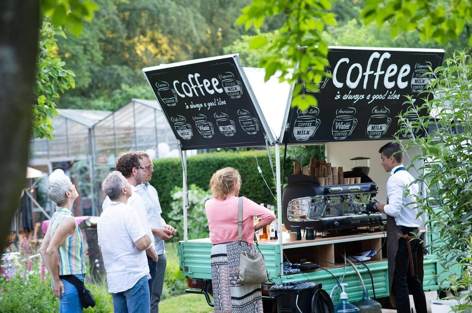 Koffie op bruiloft | Bar Company