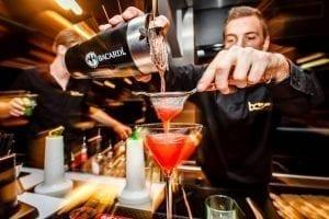 Bacardi cocktail bar