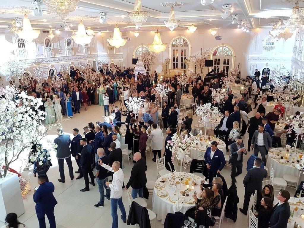Bar Company op Marokkaanse bruiloft met champagnetoren en cocktails