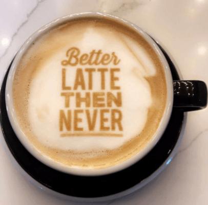 Koffie printer