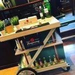 Gin Tonic cocktail kar trolley van Bar Company (1)
