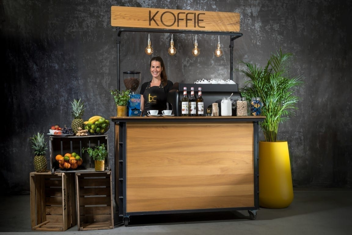 Koffie catering met mobiele koffiebar - Bar Company