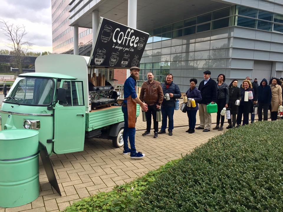 Koffie piaggio huren - Bar Company