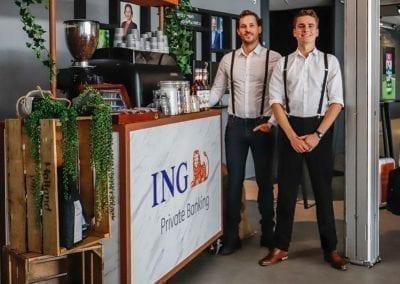 Mobiele koffiebar huren voor evenementen - Bar Company