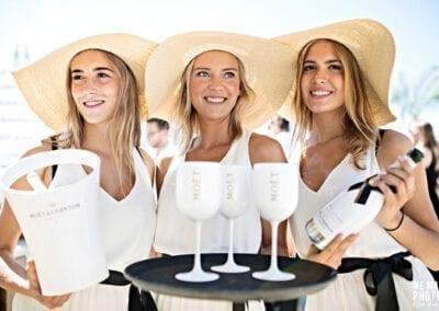 Champagne dames van Bar Company