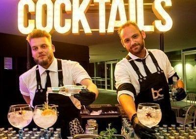 Gin Tonic bar huren voor feesten - Bar Company