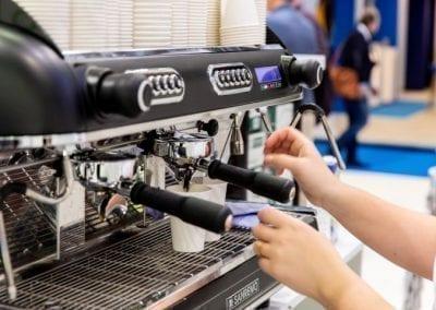 Half automaat espressomachine huren - Bar Company