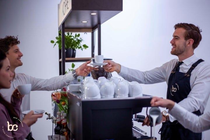 Koffie op de beursstand - Bar Company