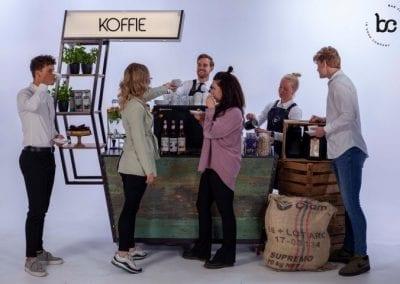 Mobiele koffiebar huren op locatie voor evenementen - Bar Company