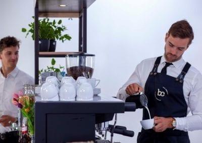 Koffie catering voor evenementen met barista - Bar Company