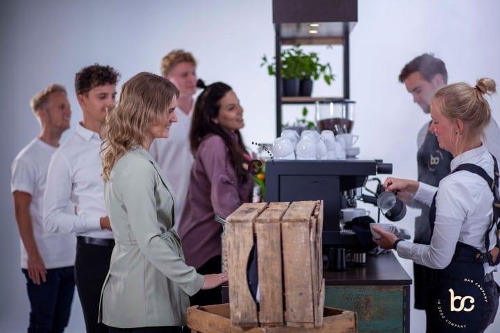 Koffie op locatie met een mobiele koffiebar - Bar Company