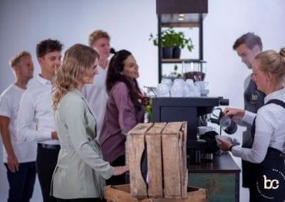 Koffie op je feest met kofifebar en barista - Bar Company