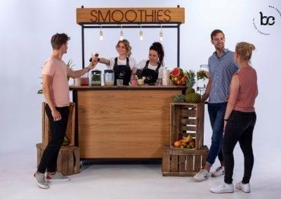 Mobiele smoothie bar op locatie huren - Bar Company