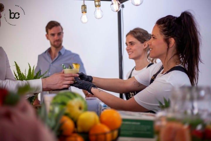 smoothiebar huren op locatie - Bar Company