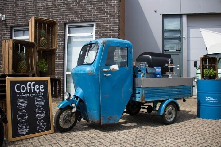 Koffie tuk tuk op locatie - Bar Company