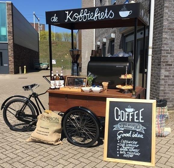 Koffiefiets huren voor evenementen op locatie - Bar Company