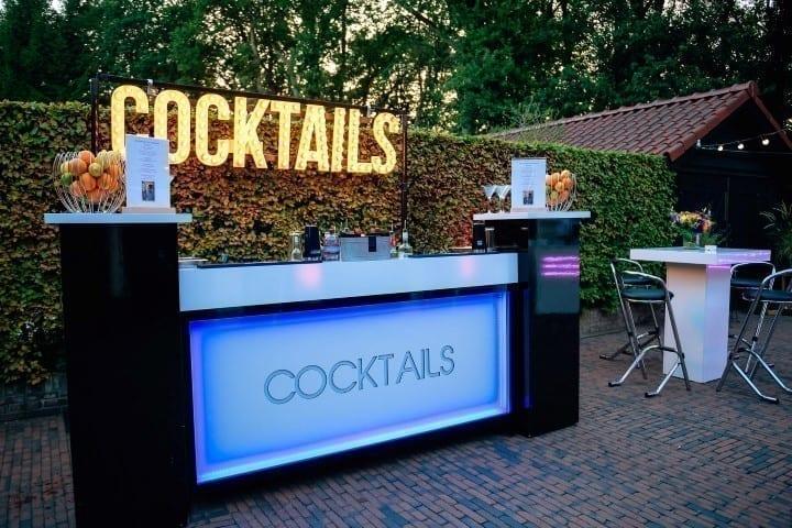 Mobiele cocktailbar huren op locatie - Bar Company