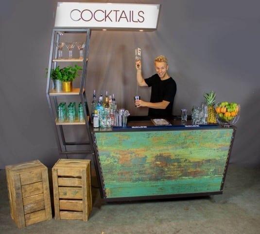 Mobiel cocktailbar huren voor je feest - Bar Company