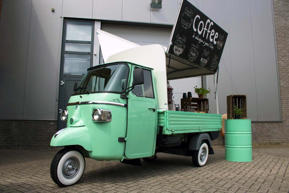 Koffie tuk tuk huren met barista - Bar Company
