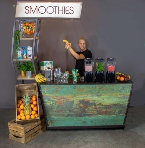 Mobiele smoothiebar huren - Bar Company