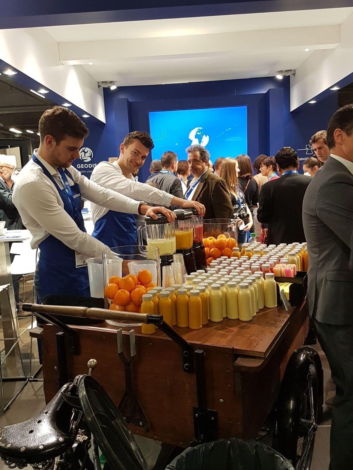 Smoothies op congres - Bar Company