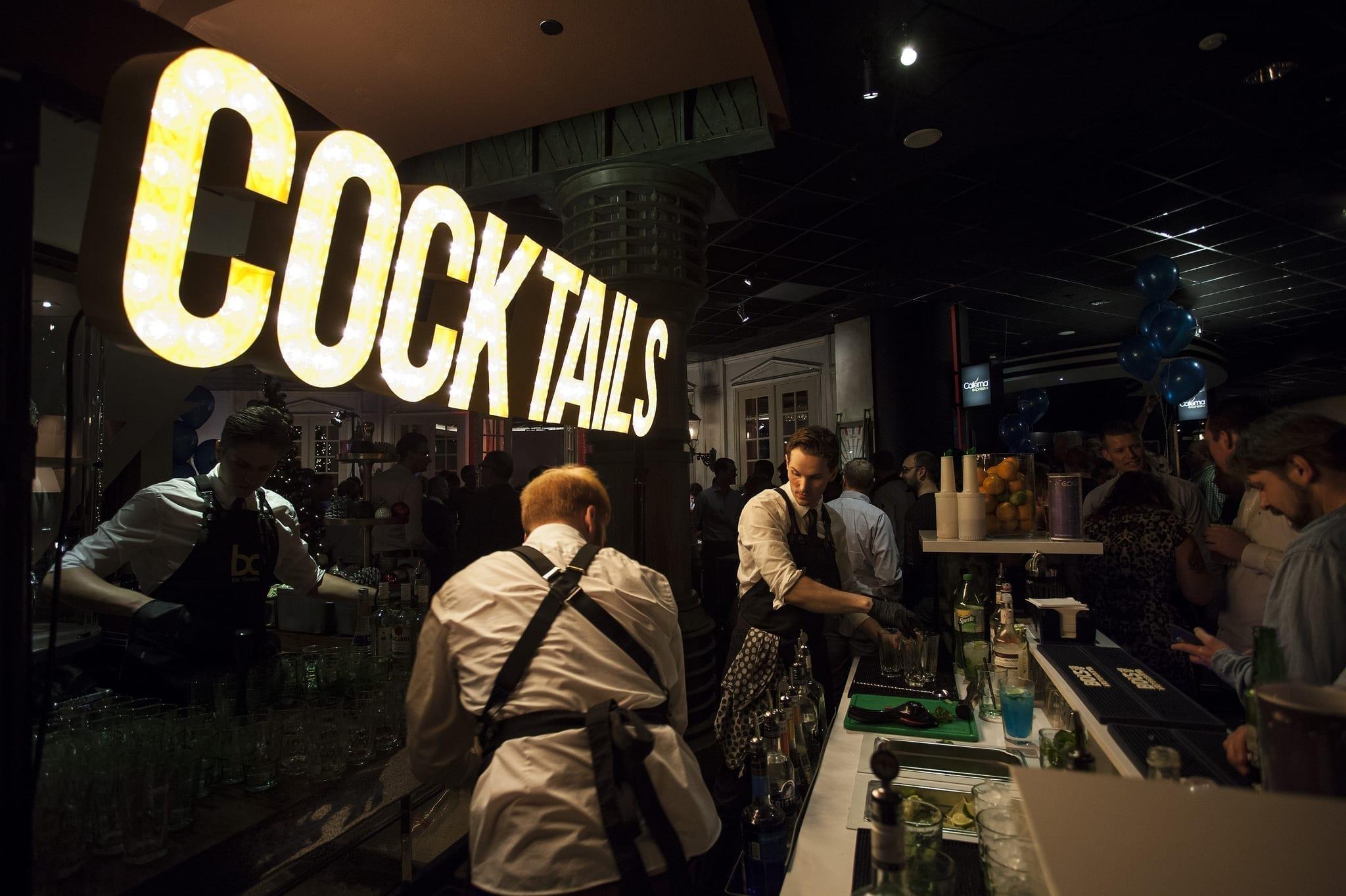 cocktail decor huren - Bar Company