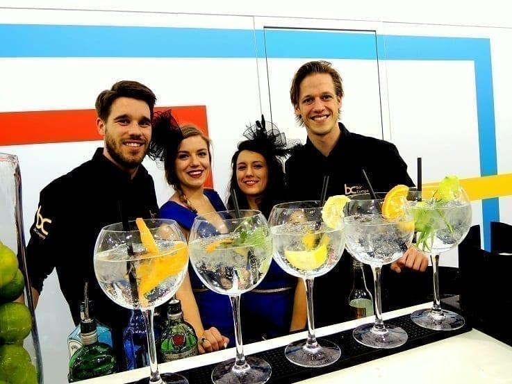 Gin tonic bar huren op locatie - Bar Company