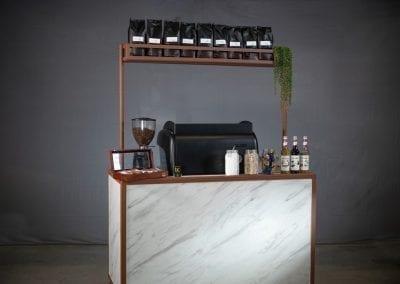 Koffiebar marmer - Bar Company