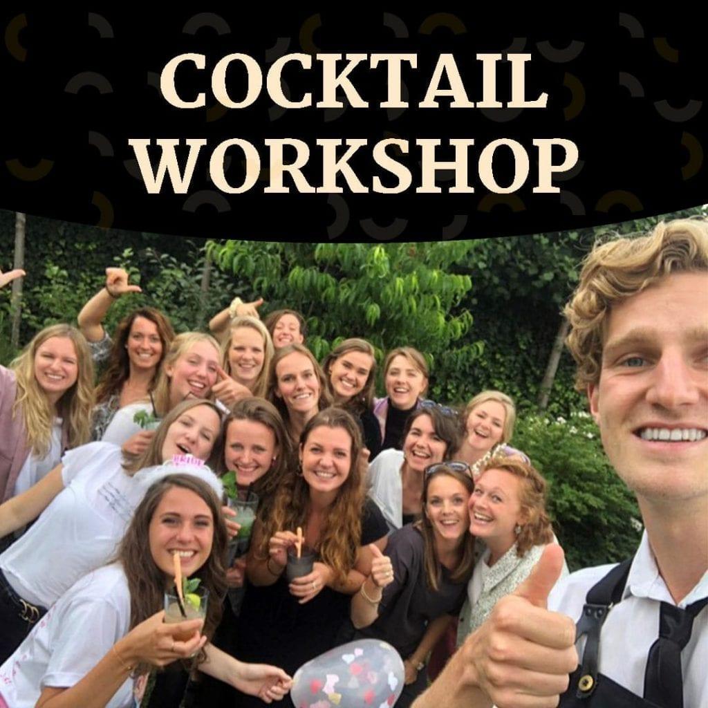 Cocktail workshop boeken bij je thuis - Bar Company