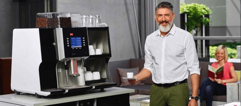Koffie machine huren op beurs stand - Bar Company-min