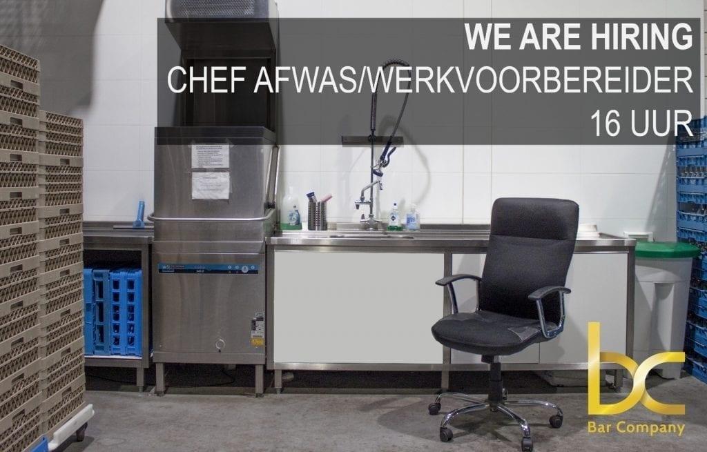 vacature afwasser in Nijmegen bij Bar Company